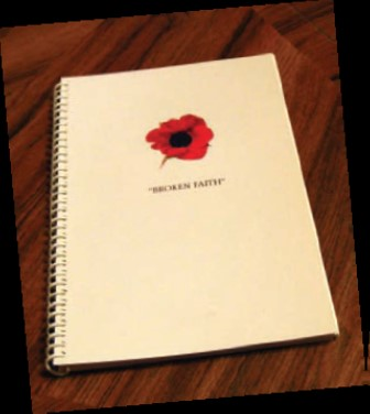 Veterans' book of protest