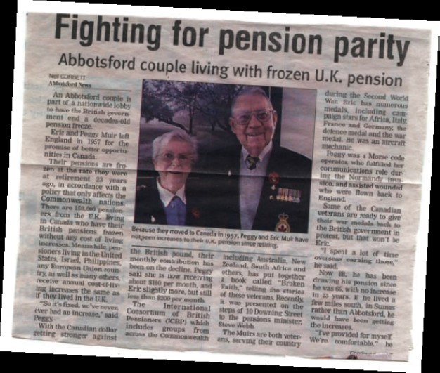 Fighting for Pension Parity - Abbotsford
